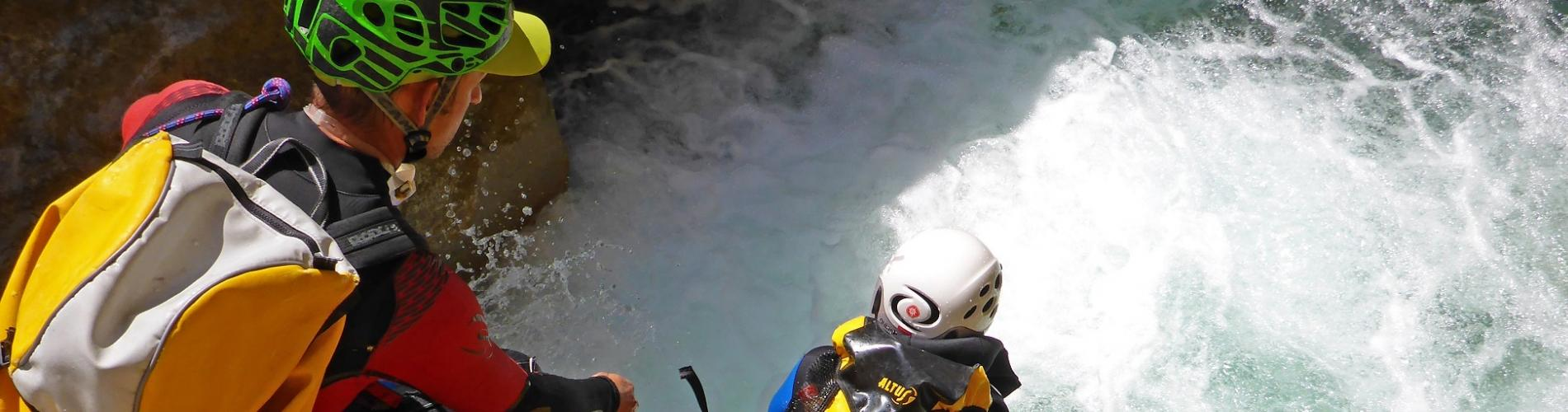 voyages aventure Canyoning